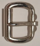 "32mm (1¼"") Roller Buckle Nickel Plated Heavy. Code ZX5"